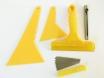 Набор инструментов 5в1 для работы с виниловыми и тонировочными пленками. № 2