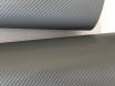 4D карбон серый графит, высокое качество, микроканалы, под лаком ширина 1,52м. № 2