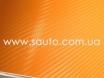 Оранжевая пленка карбон 3D, карбоновая пленка цвет оранжевый  № 4