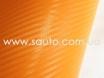 Оранжевая пленка карбон 3D, карбоновая пленка цвет оранжевый  № 2