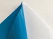 Синяя (голубая) матовая самоклеящаяся пленка для оклейки авто, (виниловая+ПВХ) CarLux+ 1,52м № 3