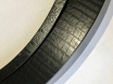 Пленка под кожу крокодила 3d черная, ширина 1,52м. № 5