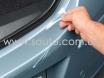 Защитная полоса на задний бампер у крышки багажника, Пленка защитная для бампера  № 2