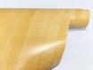 Декоративная самоклеющейся пленка под дерево бежевая (клен светлый) 0.9м № 2