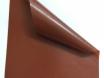 Коричневая виниловая пленка под кожу, самоклейка Senof 1.52м. № 4