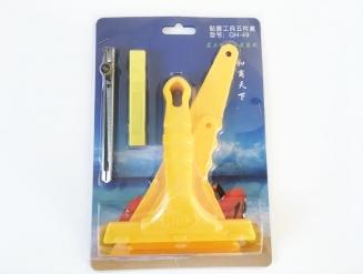 Набор инструментов 5в1 для работы с виниловыми и тонировочными пленками.