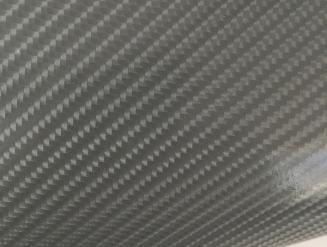 4D карбон серый графит, высокое качество, микроканалы, под лаком ширина 1,52м.