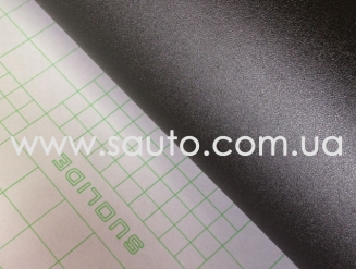 Структурная пленка матовая черная 1,52м., (супер мат)