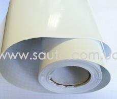 Виниловая белая глянцевая пленка для авто, белый глянец пленка 1,52м.