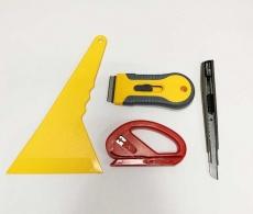 Набор 4в1 Инструмент для работы с тонировочной пленкой.