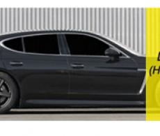 Пленка тонировочная автомобильная Sаnray темная super dark black 5%