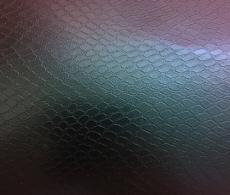 Пленка темно-синияя хамелеон под кожу змеи 3D, микроканалы 1.52м.