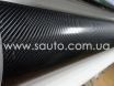 Карбоновая пленка 4D карбон черный, высокое качество микроканалы, карбон под лаком ширина 1,52м. № 4