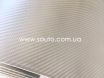 4D карбон серебро, высокое качество, микроканалы, под лаком ширина 1,52м. № 3