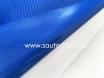 4D карбон синий, высокое качество, микроканалы, под лаком ширина 1,52м. № 4
