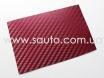 Бордовый карбон 3D TR1, бордовая карбоновая пленка. № 2