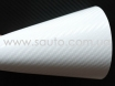 Белый карбон CARLUX + аналог 3M № 1