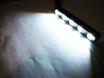 Ходовые огни дневного света  DRL-505 с линзами № 3