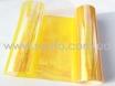Желтая пленка хамелеон на фары 3-х слойная +защита № 4