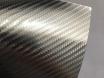 4D хром карбоновая пленка, 4D карбон серебро хром, Carlux+ ширина 1.52м. № 3