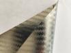 Хром карбоновая пленка 3D карбон хром серебро, Carlux+ ширина 1.52м. № 4