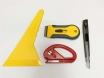 Набор 4в1 Инструмент для работы с тонировочной пленкой. № 1