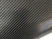 Карбоновая пленка 4D карбон черный, высокое качество микроканалы, карбон под лаком ширина 1,52м. № 1
