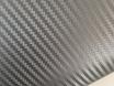 Серый карбон 3D Senof, пленка карбоновая графит  № 1