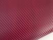Бордовый карбон 3D TR1, бордовая карбоновая пленка. № 1
