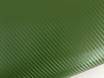 Карбоновая пленка зеленая, темоно-зеленый армейский карбон 3D № 1