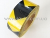 Лента маркировочная светоотражающая для автомобиля, желто-черная № 4