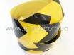 Лента маркировочная светоотражающая для автомобиля, желто-черная № 1