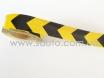 Лента маркировочная светоотражающая для автомобиля, желто-черная № 2