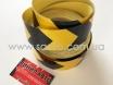 Лента маркировочная светоотражающая для автомобиля, желто-черная № 3