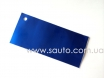 Матовый хром, цвет синий М2803 № 1