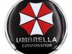 Наклейки на автомобильные колпаки Umbrella 4шт. № 4