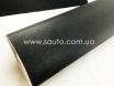 Пленка шлифованный алюминий черный, 1.52м. с микроканалами № 1