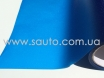 Пленка для фар алмазная крошка синяя № 3
