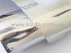 Пленка хром для авто, под хром серебро, зеркальная пленка глянец 1,52м. 3-слоя № 1