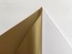 Золотая матовая самоклеящаяся пленка для оклейки авто, (виниловая+ПВХ) CarLux+ 1,52м № 3