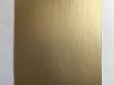 Хром мат золото (золотая) пленка для авто самоклеящаяся, ширина 1.52м.  № 4