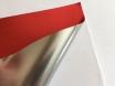 Хром мат красный пленка для авто самоклеящаяся, ширина 1.52м.  № 3