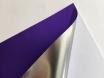 Хром мат фиолетовый пленка для авто самоклеящаяся, ширина 1.52м.  № 3