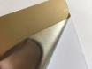 Хром мат золото (золотая) пленка для авто самоклеящаяся, ширина 1.52м.  № 3