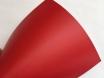 Красная матовая самоклеящаяся пленка для оклейки авто, (виниловая+ПВХ) CarLux+ 1,52м № 2