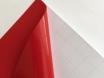 Красная матовая самоклеящаяся пленка для оклейки авто, (виниловая+ПВХ) CarLux+ 1,52м № 3