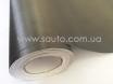 Пленка шлифованный алюминий графит, серая, темно-серая 3D ширина 1,52м. № 3