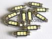 Лампа c5w светодиодная для подсветки номера автомобиля 3 LED № 3