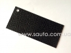 Глянцевая виниловая пленка с микроканалами, змеиная кожа, цвет черный S6301 № 1