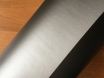 Серая матовая пленка на авто 1,52м., пленка серый мат графит № 1